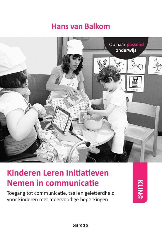 Cover van het Klin© handboek door Hans van Balkom